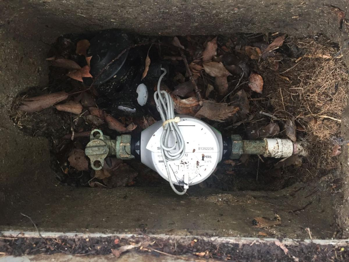 Water meter in American Canyon