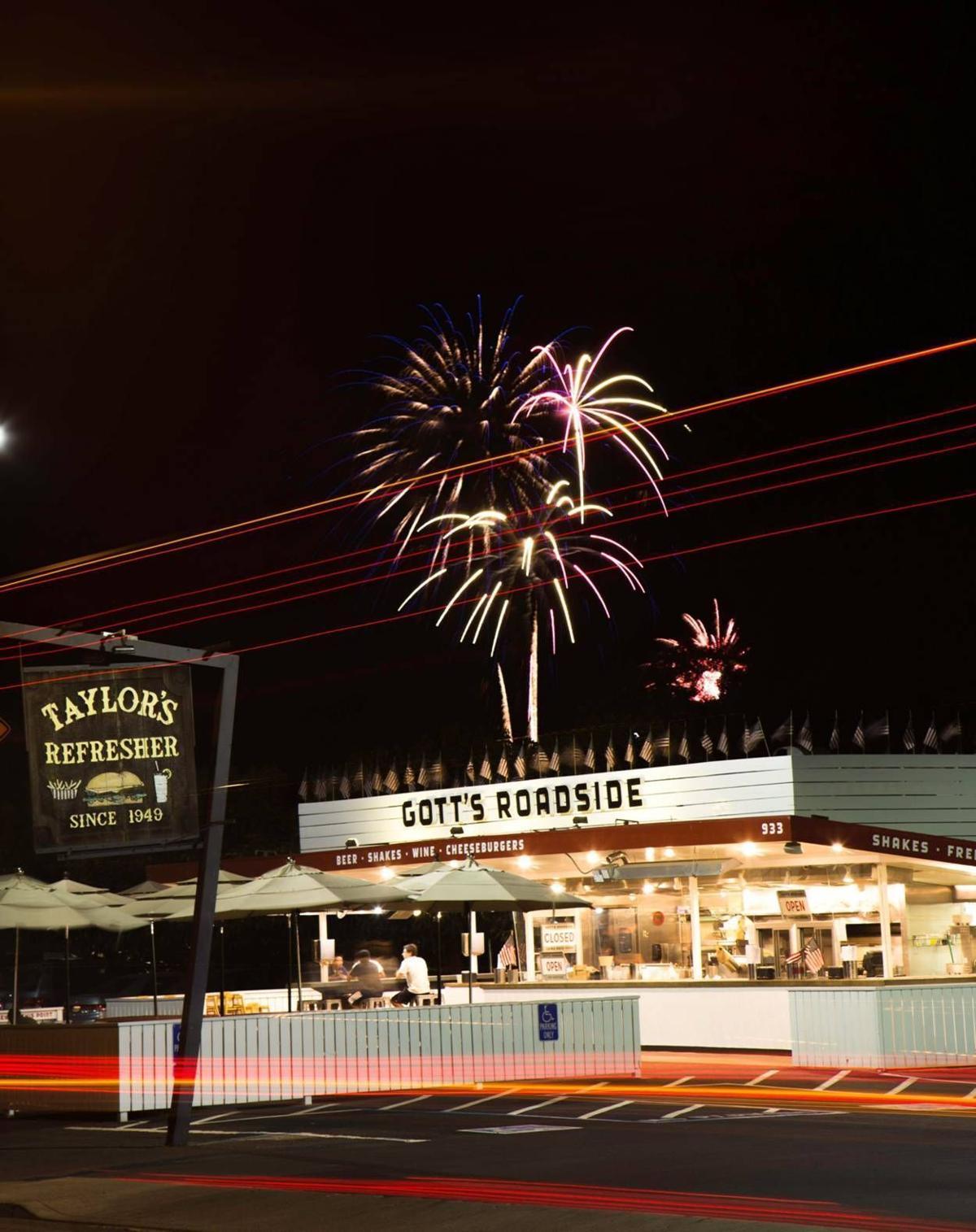 Fireworks at Gott's
