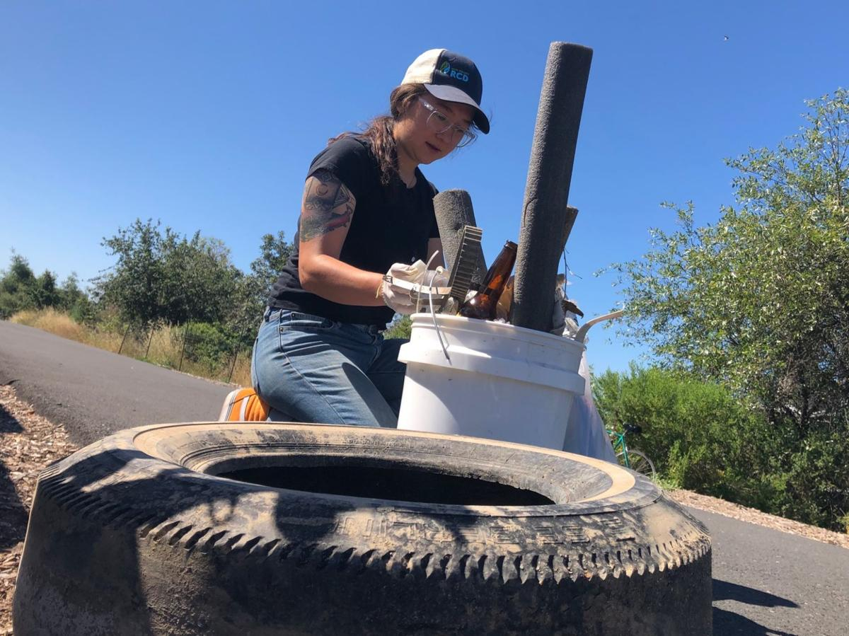 Napa County Resource Conservation District river cleanup 6/22/2019