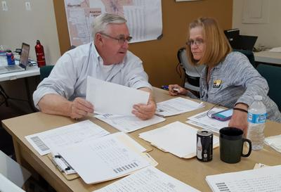 Don Evans and Carolyn Thompson Measure H Election Night