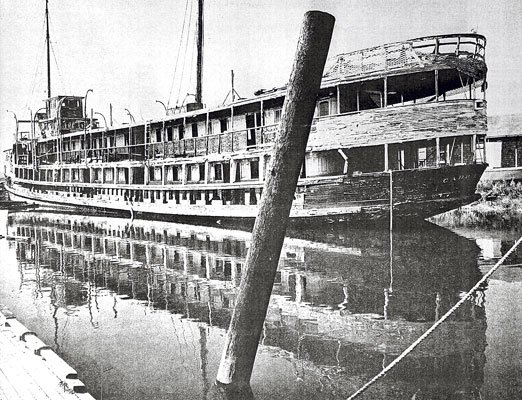 The ghost ship of Carneros
