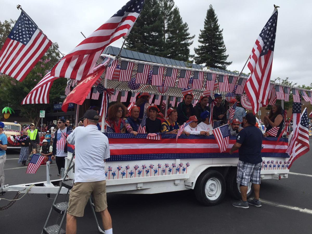 Napa's Fourth of July Parade 2018