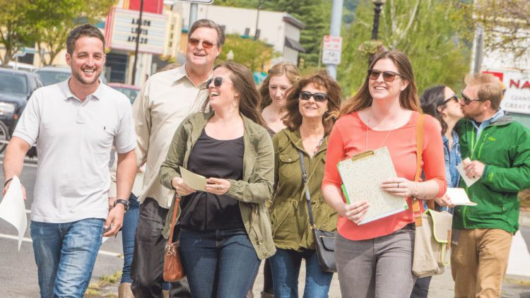 Rooted Fork Foodie Tours include food, local history, art and culture