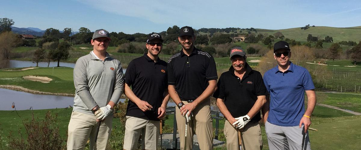 Players at Annual Giants Napa Golf Outing