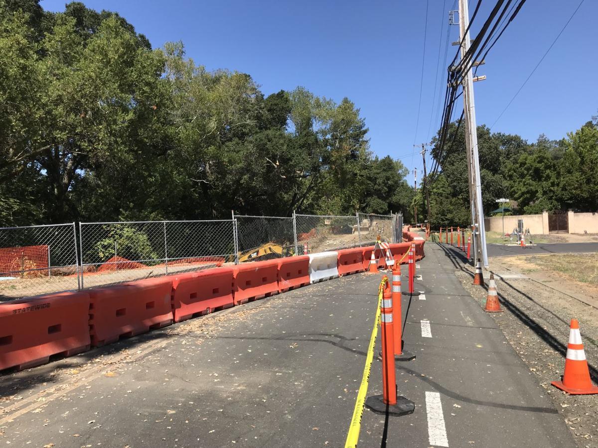 Browns Valley Road repair