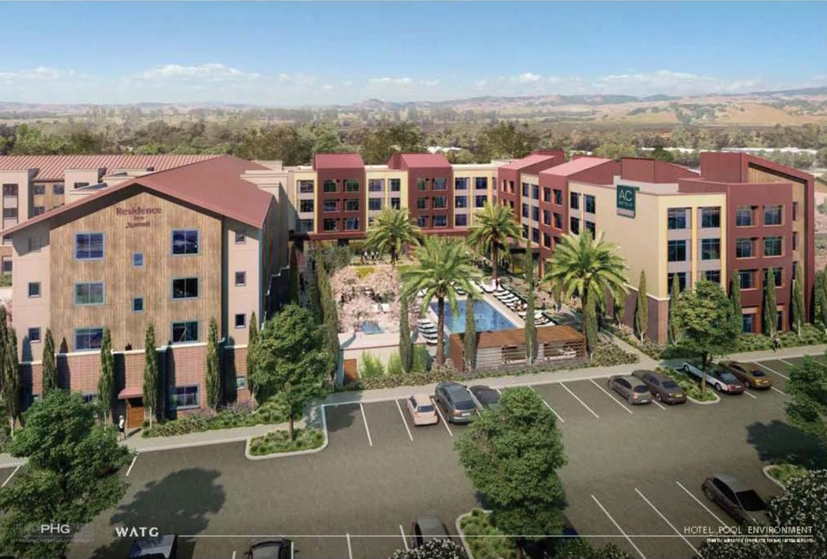 Marriott hotel approved in south Napa