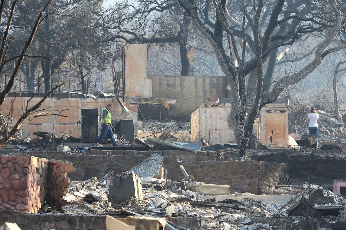 Deer Park after Glass Fire