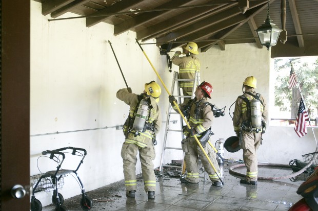Small Fire Forces Evacuation At Veterans Home