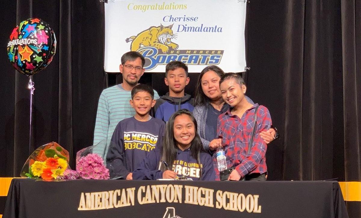 American Canyon High volleyball standout Dimalanta signs with UC
