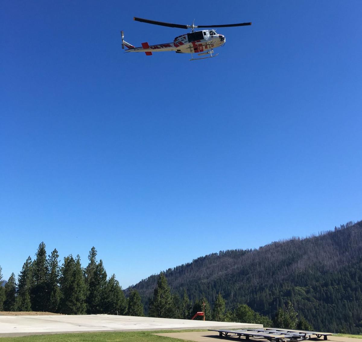 'Super Huey' on Cobb Mountain