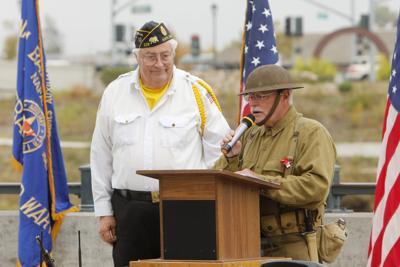 Veterans Day ceremony in Napa