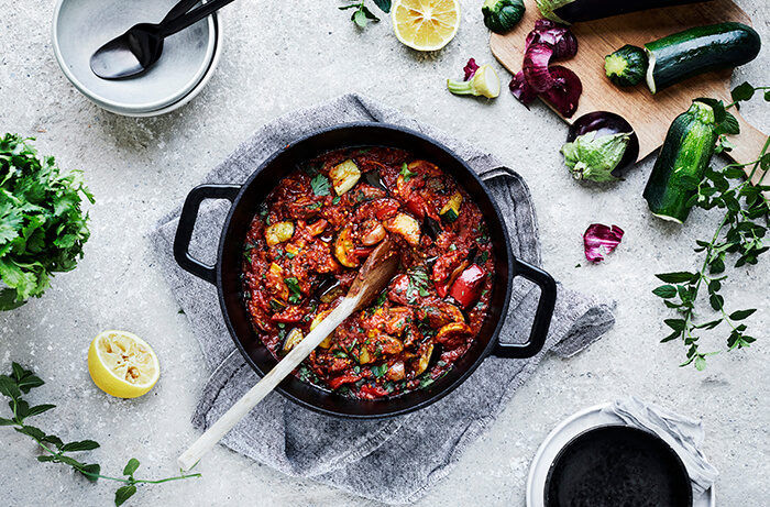 Curry Spiced Ratatouille