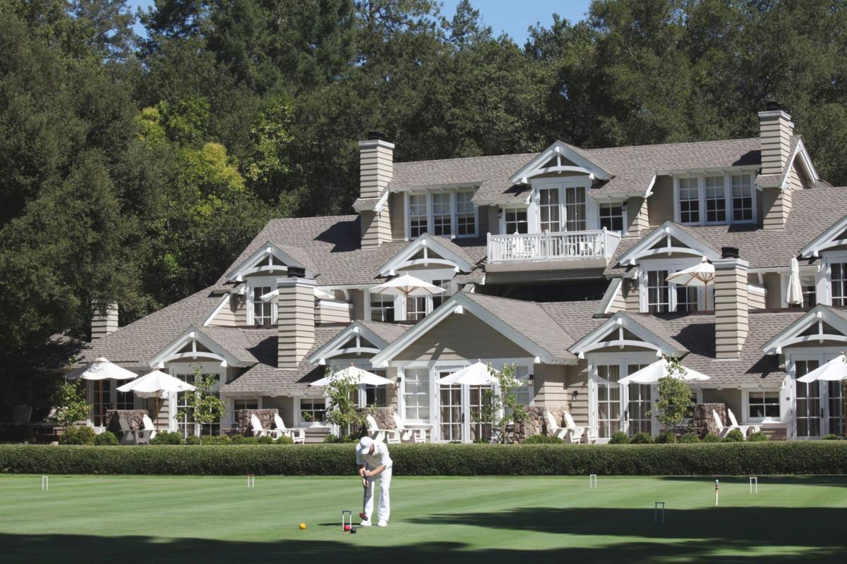 Croquet Lawns and Lodge - Meadowood Napa Valley