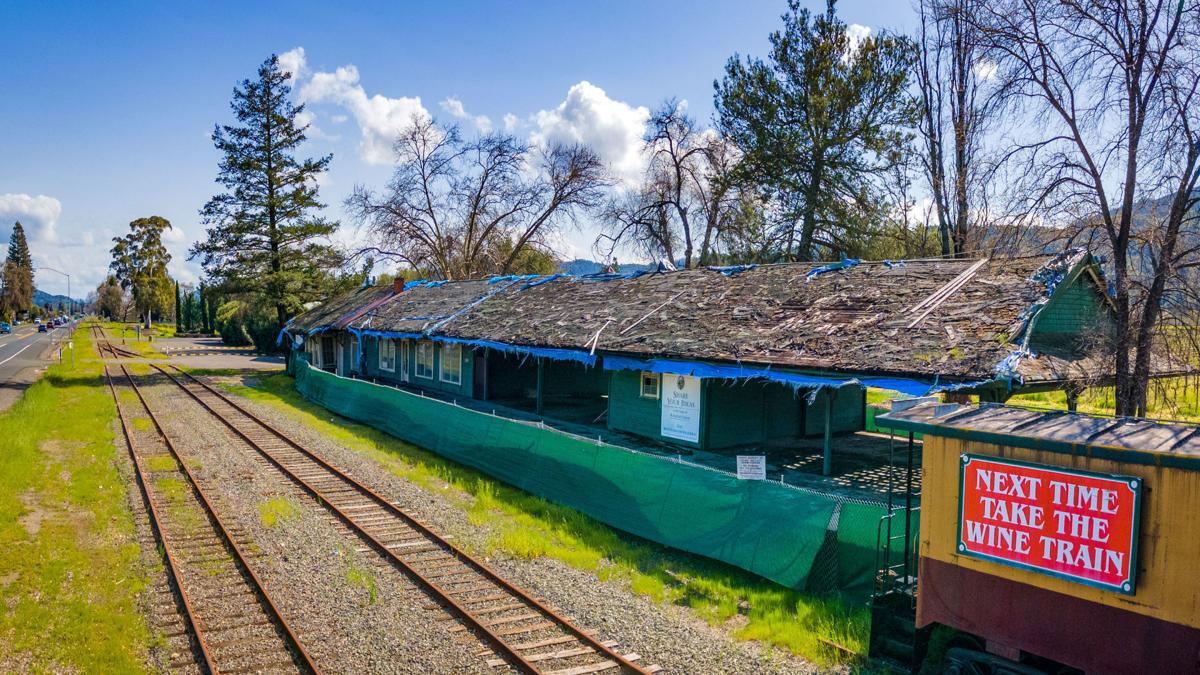 Rutherford depot today