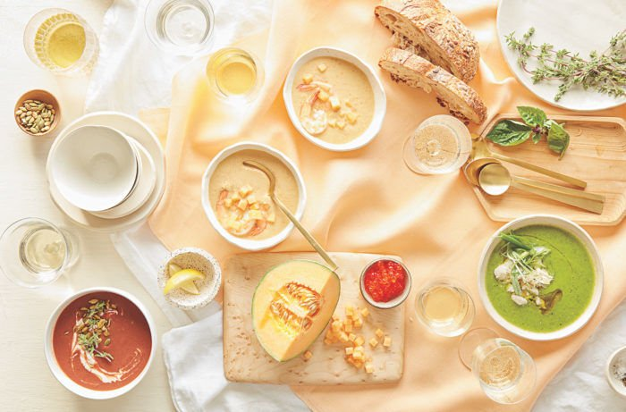 Beat the Summer Heat with These Chilled Soups