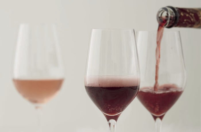 Rosés and Fizzy Reds Are The New Light Winter Wines