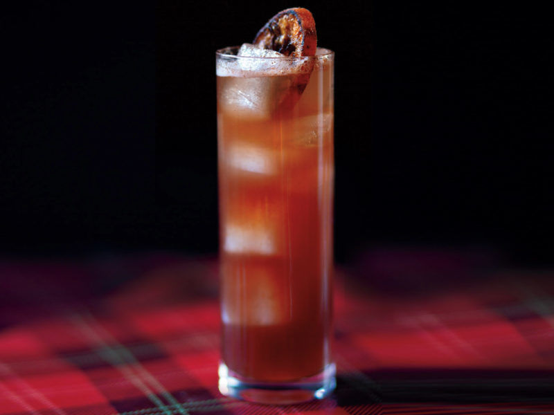 The Red Tartan Scotch Whisky Cocktail