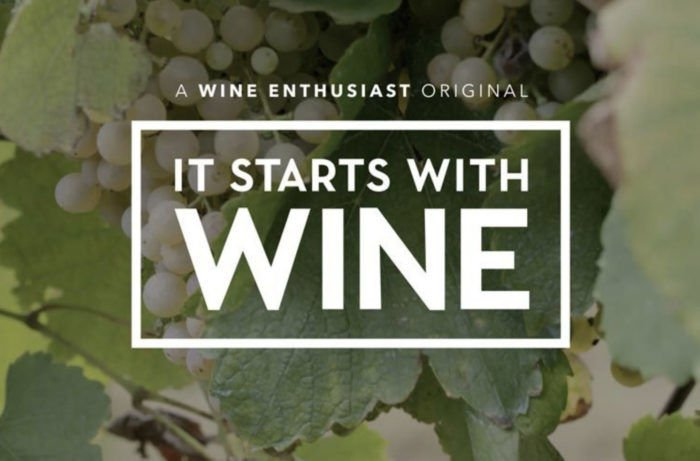 It Starts With Wine, a New Wine Enthusiast Television Series, Launches on Amazon Prime and Vimeo