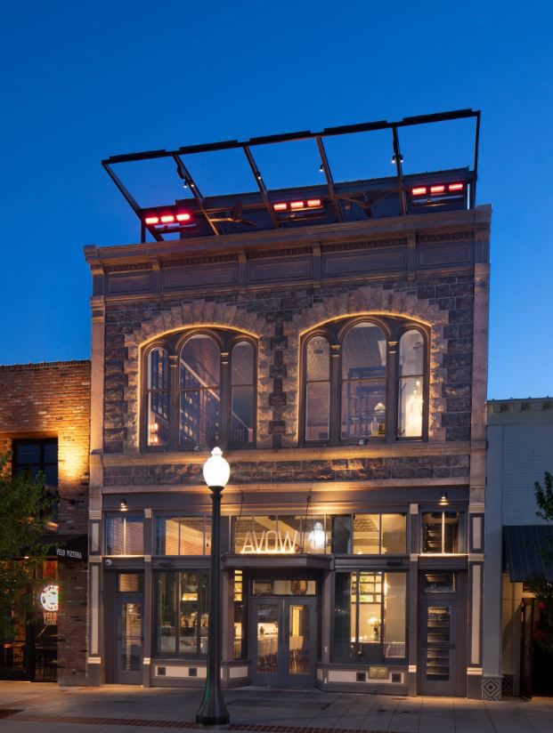 AVOW Napa is a new restaurant, lounge and bar located in the former Fagiani's space on Main Street in downtown Napa.