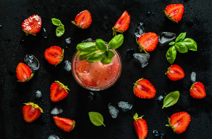 Spring is Here, So You Need this Strawberry Basil Caipirinha