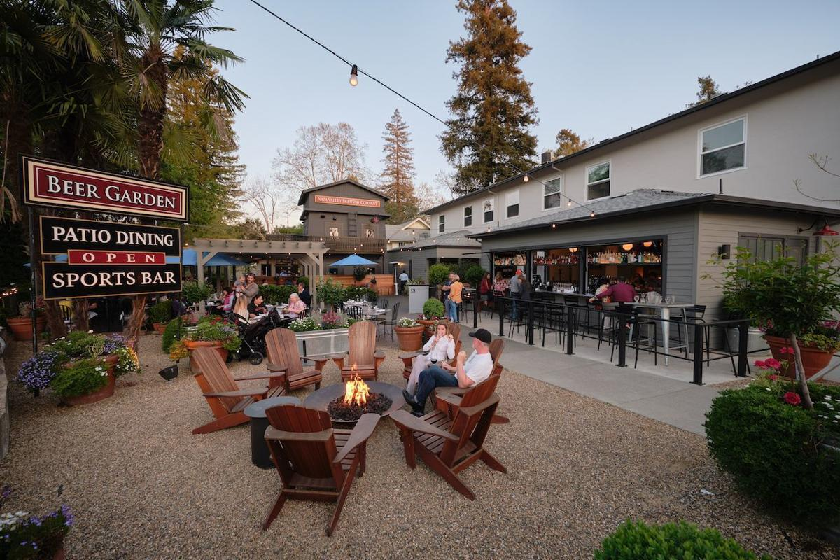 Napa Valley Brewing Company at the Calistoga Inn
