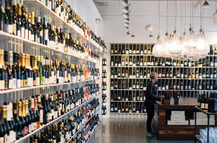 Redefining Wine Shop Design, Inside and Out