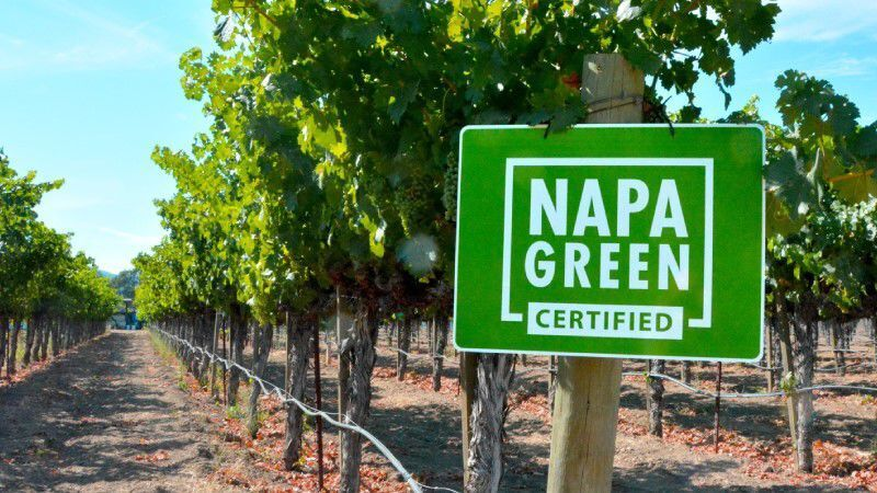 Napa Green Certified Sign