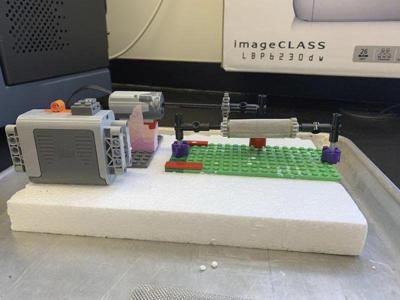 Penn State lab attempting to use Legos to grow meat