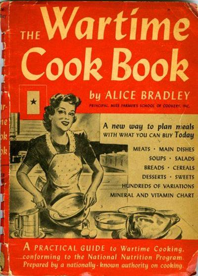 Historic recipes World War II cookbook created ration-worthy meals
