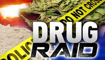 District attorney, U S  attorneys serve drug warrants in