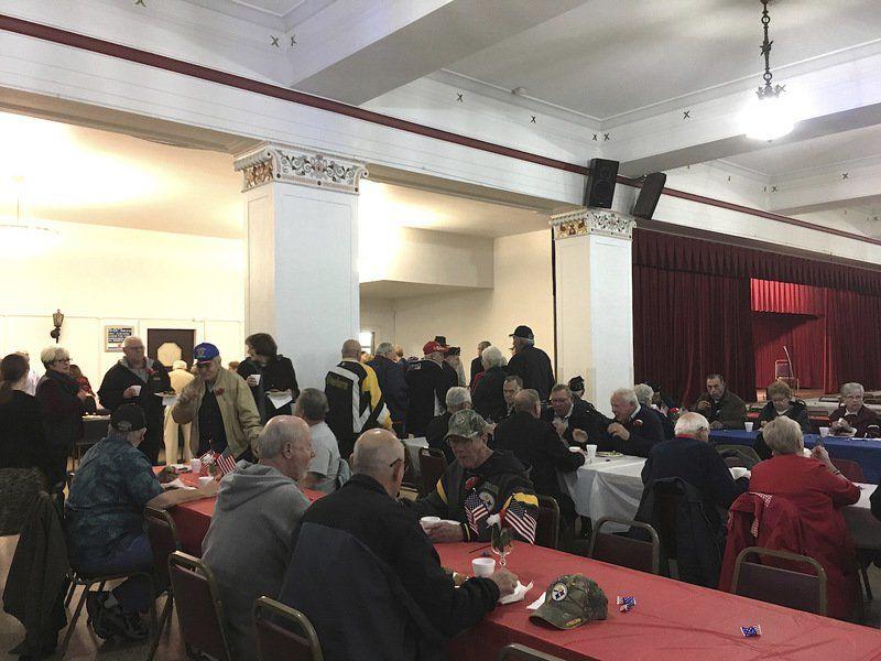 Mohawk, Navy grad delivers keynote address at veterans event