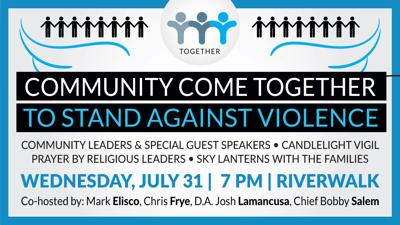 Community Come Together To Stand Against Violence