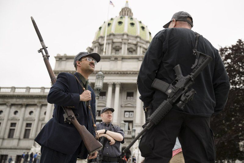 Wolf to veto bills on carrying, selling guns amid disasters