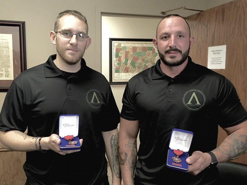County narcotics officers honored