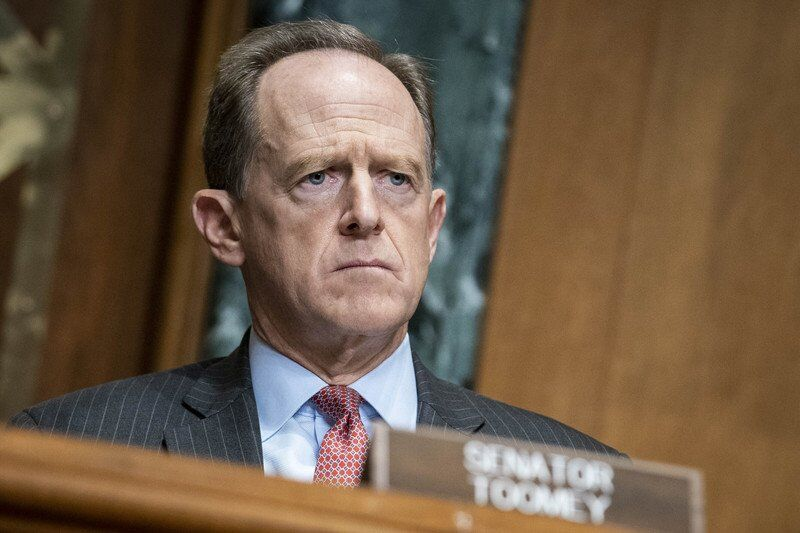 Toomey urges Trump to resign as impeachment gains support
