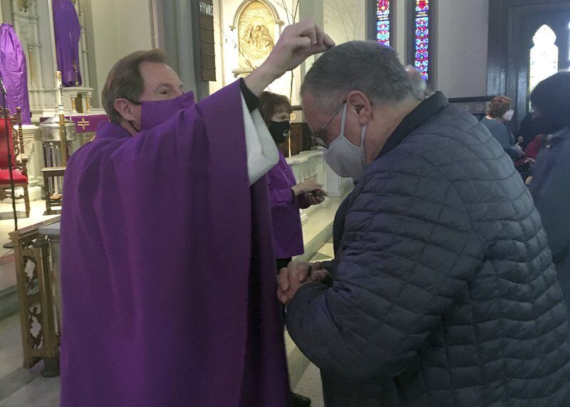 Pandemic brings new twist to Ash Wednesday observances