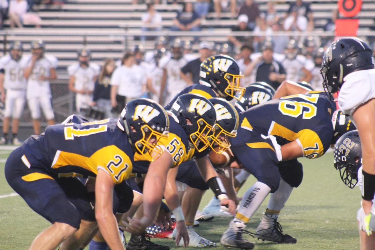 Wilmington offensive line