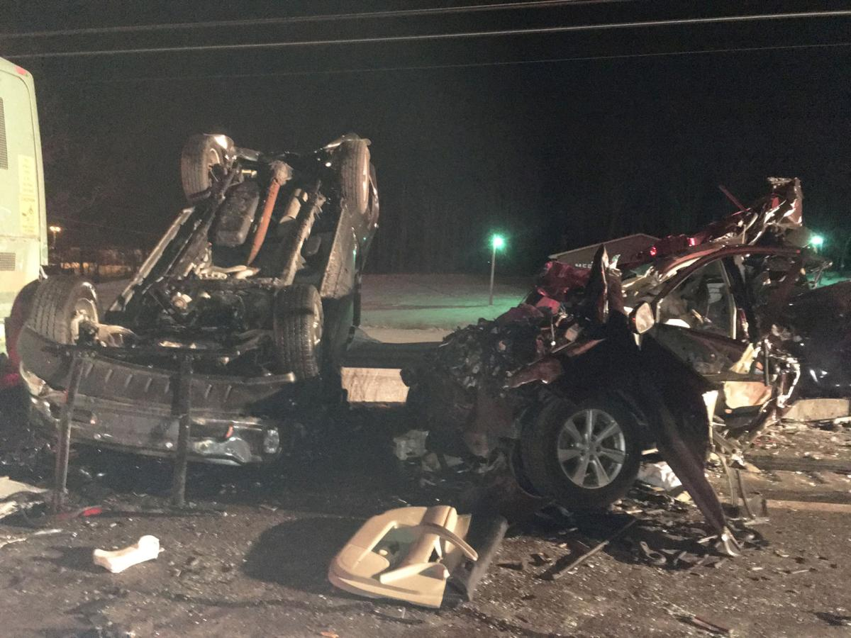 Five injured in nine-vehicle crash on Route 422 | Local News