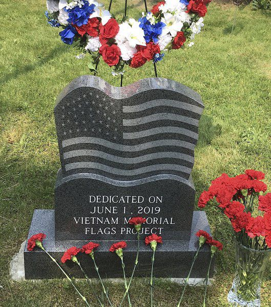 Vietnam Memorial dedicated at Cascade Park