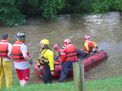 Neshannock Creek rescue