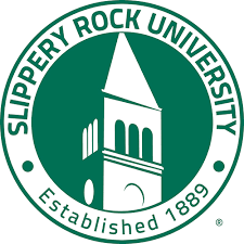Slippery Rock University stock image