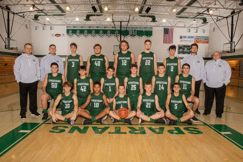 Laurel boys team photo
