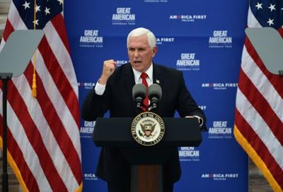 Pence at Guy Chemical