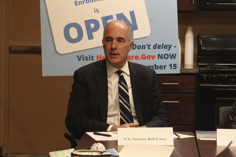 Senator Casey leads roundtable Focused on preserving Affordable Care Act