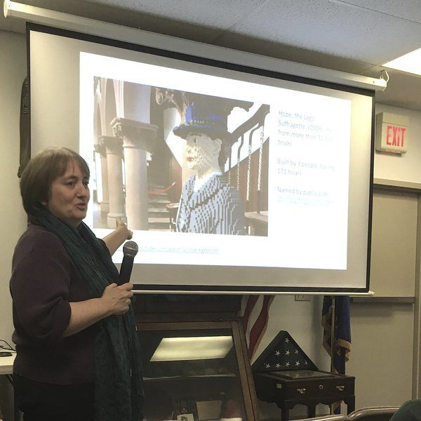 Historical society program spotlights the 19th amendment