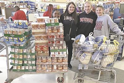 Student food drives make for happier Thanksgiving