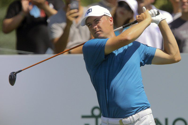Johnson takes one-shot lead over Spieth at Liberty National