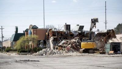 Former Hermitage Perkins razed