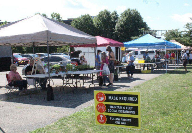 Farmer's market continues to grow in downtown New Castle