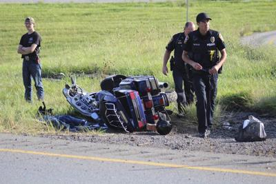 Motorcycle crash sends two to hospital | Local News